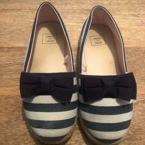 Janie and Jack Espadrilles toddler size 10